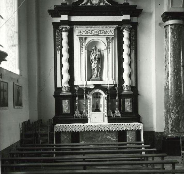 Floreffe – église paroissiale Notre-Dame du Rosaire – mobilier intérieur