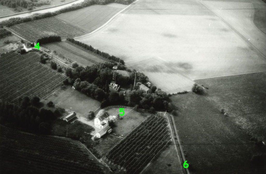 Floreffe – Floriffoux – rues du Try – du Bois Planté – du Charbonnage – photo aérienne