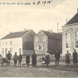 Floreffe – Buzet – la place – l'école primaire communale