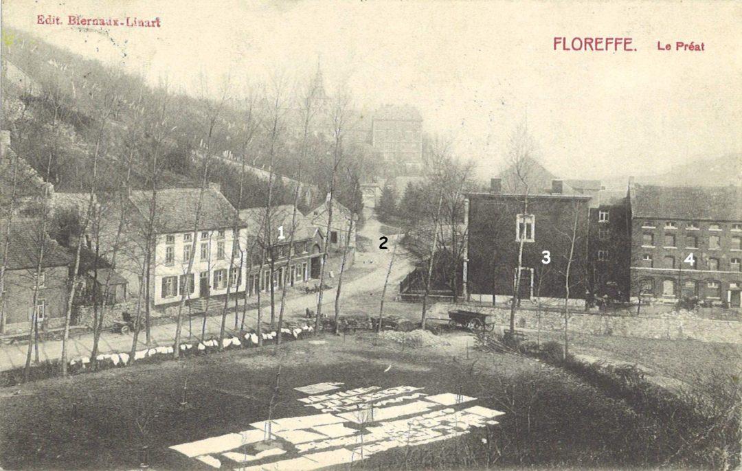 Floreffe – Avenue Charles de Gaulle – le Préat – brasserie Pêtre