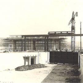 Floriffoux – rue de l'Ecluse – travaux de construction de la nouvelle écluse