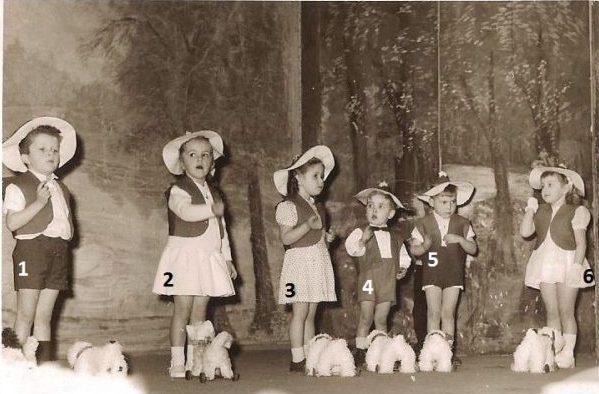 Floreffe – école primaire libre – fête scolaire – fin années 1950