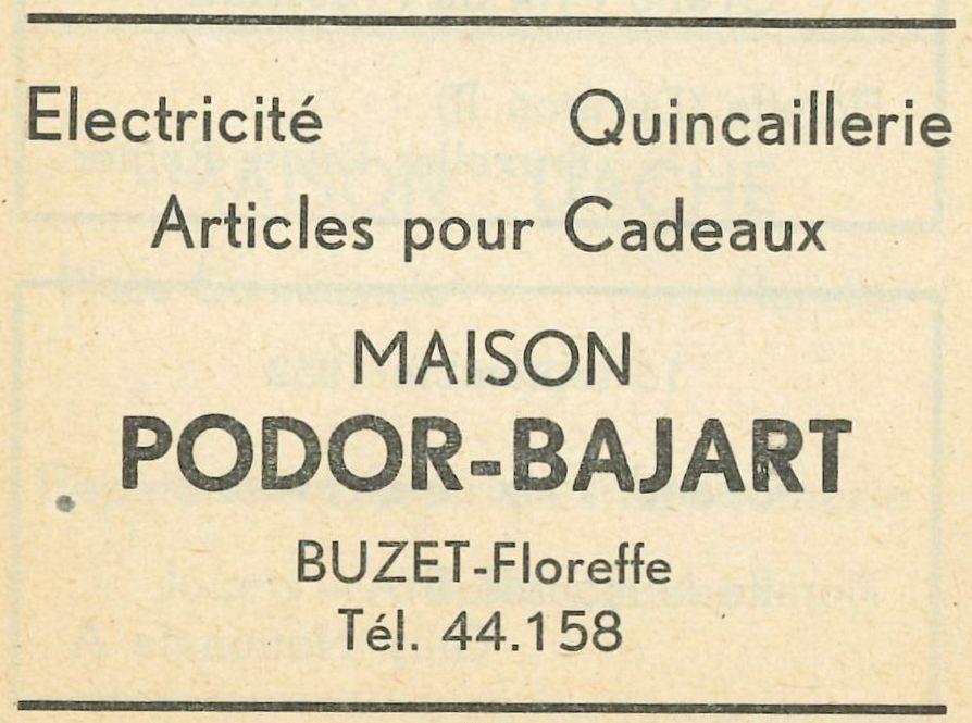 Floreffe-Buzet – Place de Buzet – quincaillerie Podor-Bajart