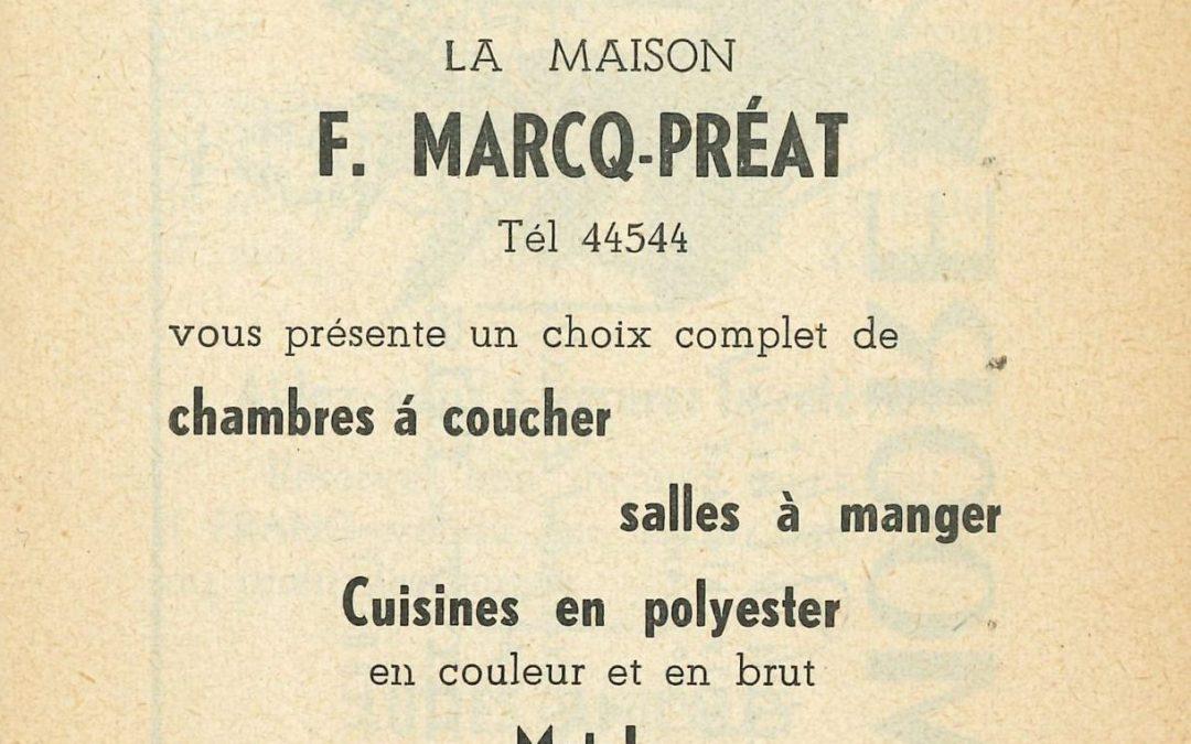 Floreffe – rue Célestin Hastir – meubles et literie Marcq-Préat