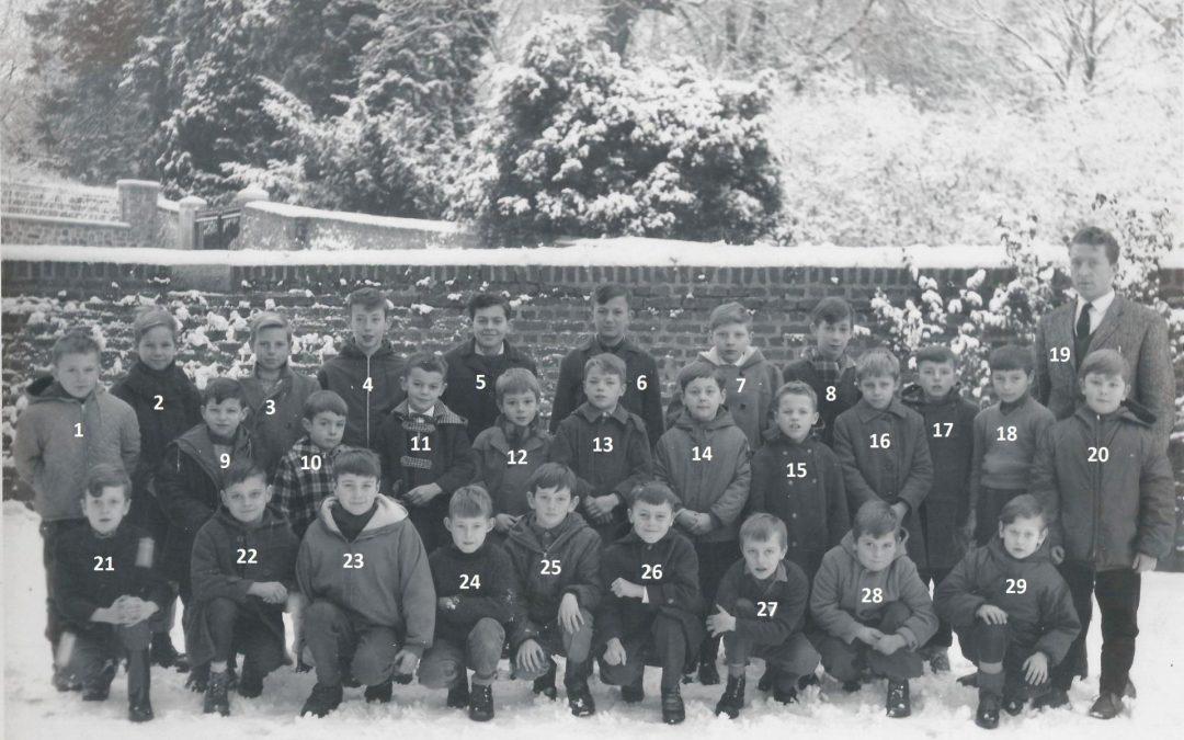 Floriffoux – école primaire communale – classes de 1963