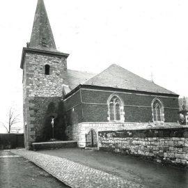 Franière – rue de l'Eglise – église Sainte-Agathe