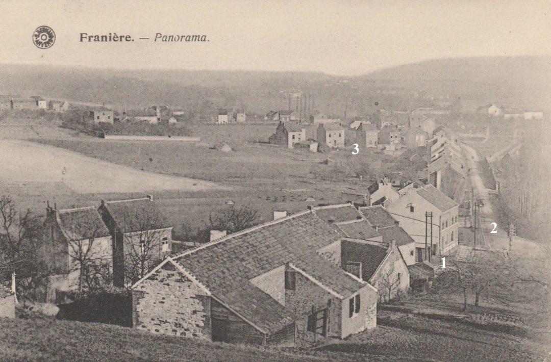 Franière – rues de Trémouroux et de Floreffe