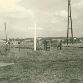Soye – carrefour des rues de la Basse-Sambre et de Floriffoux – croix de mission