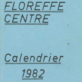 Floreffe – balle pelote – calendrier des luttes – 1982