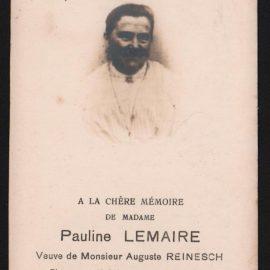 Soye – souvenirs mortuaires – les patronymes LEMAIRE