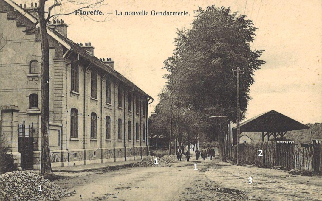 Floreffe – rue Célestin Hastir – la gendarmerie