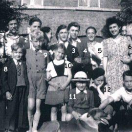 Floreffe – Place Roi Baudouin – libération – septembre 1944