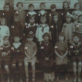 Soye – école communale – photo de classe – année 1925