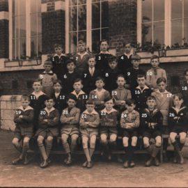 Soye – école primaire communale – photo de classe – année 1931