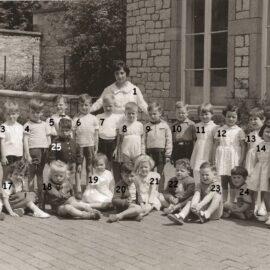 Floreffe – Buzet – école maternelle communale – classe de 1960