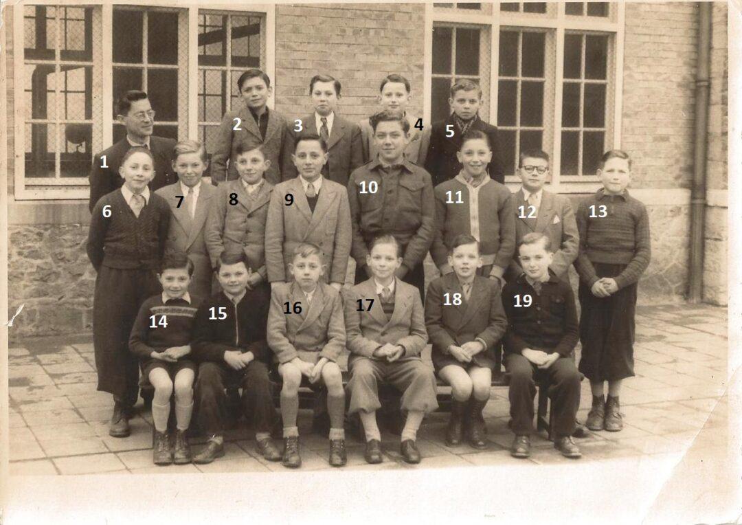 Floreffe – école primaire libre – classes de 4-5-6èmes – année 1952-1953
