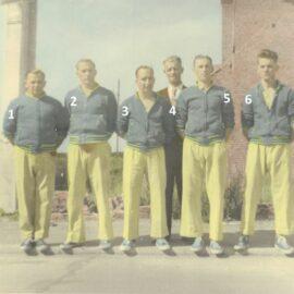 Franière – balle pelote – équipe de promotion nationale – vers 1955