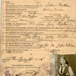 Floriffoux – Ausweis – Bertha LECTIUS