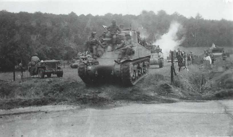 Floreffe – guerre 40-45 – la libération – septembre 1944