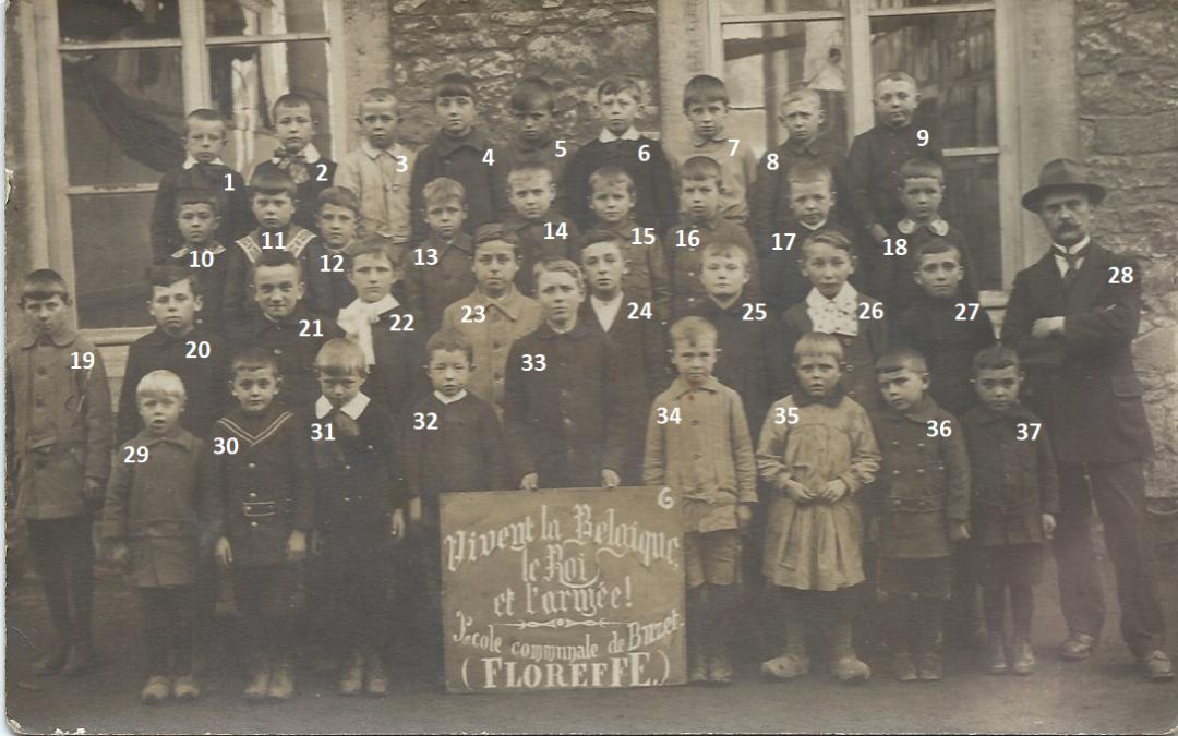 Floreffe – Buzet – école primaire communale – 1919
