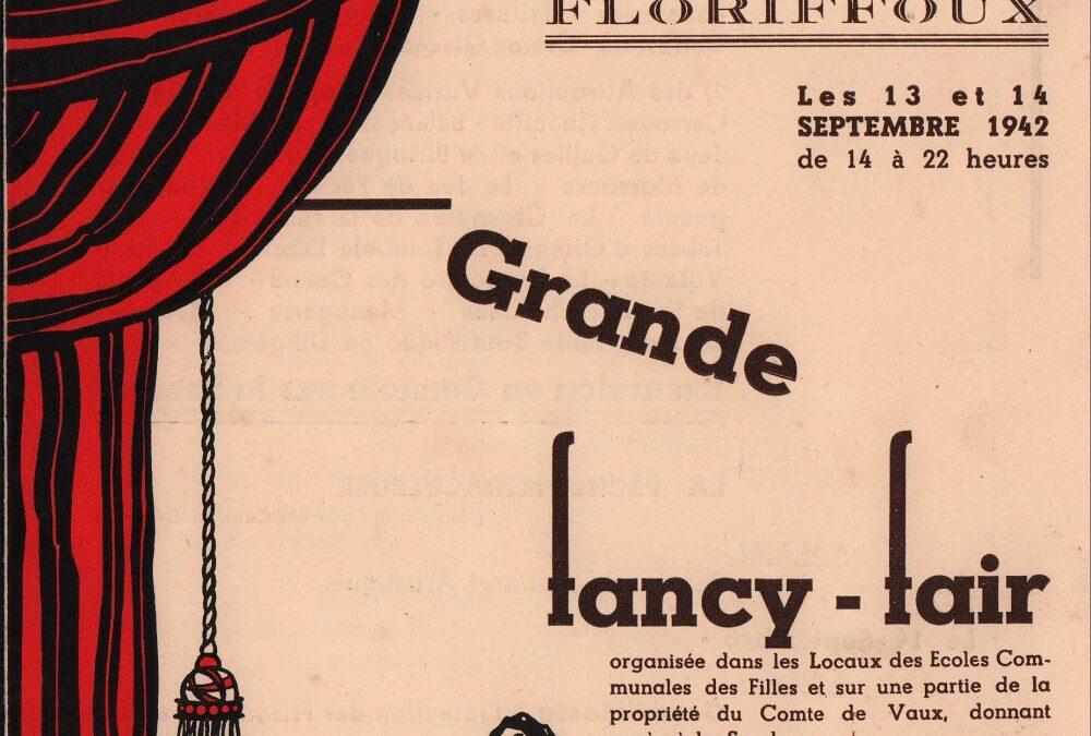 Floriffoux – fancy-fair – 13 et 14 septembre 1942