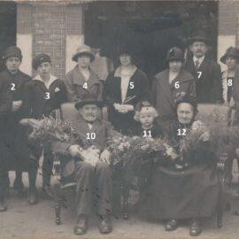 Floriffoux – noces d'or – époux Massart-Blavier – 1926
