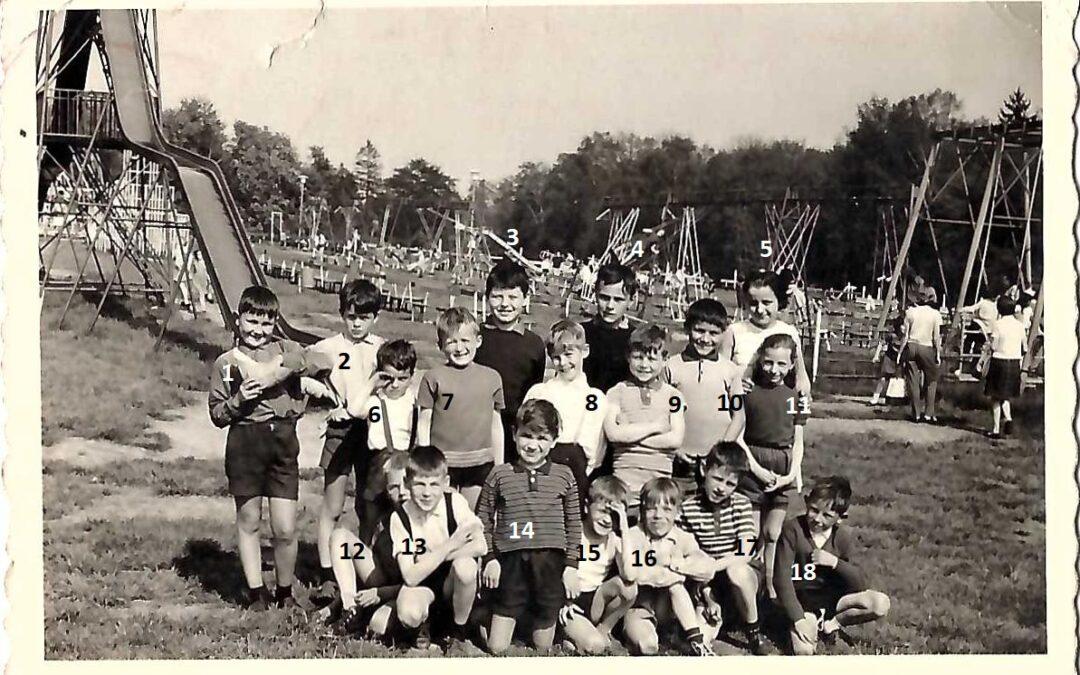 Floreffe – école primaire libre – voyage scolaire – année 1964