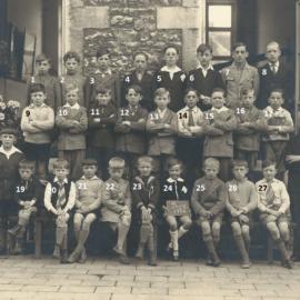 Floreffe – Buzet – école primaire communale – 1935