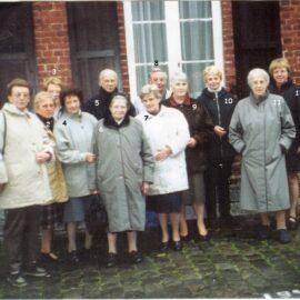 Franière – départ de Soeur Germaine – mars 2002