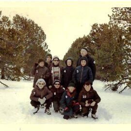 Floreffe – Ecole primaire libre – Classe de neige – 1967