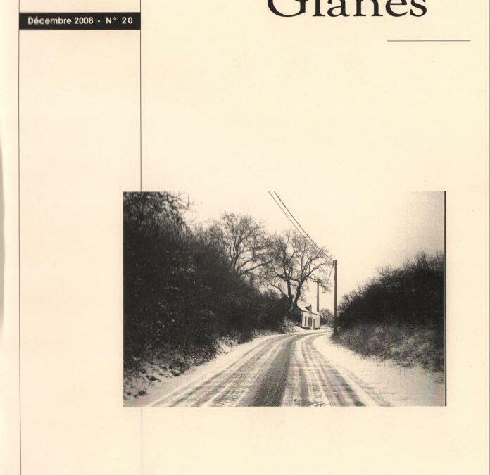 Floreffe – nouvelles glanes – décembre 2008 – n°20