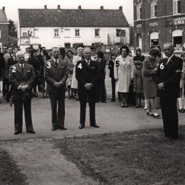 Soye – cérémonie patriotique – entre 1971 et 1976
