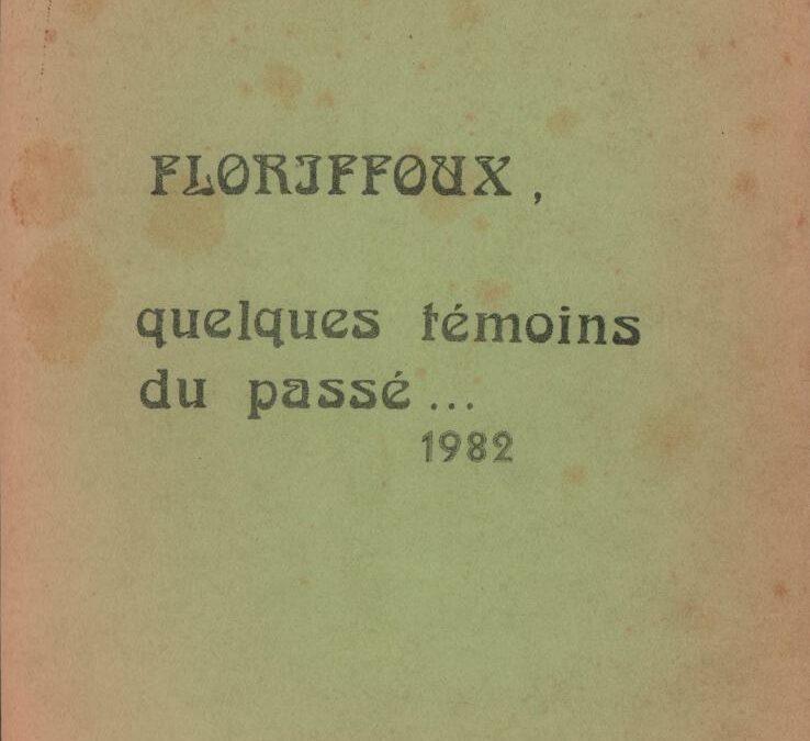 Floriffoux – quelques témoins du passé – VII