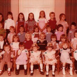Floreffe – Sovimont – école libre maternelle – classe de 1979-1980