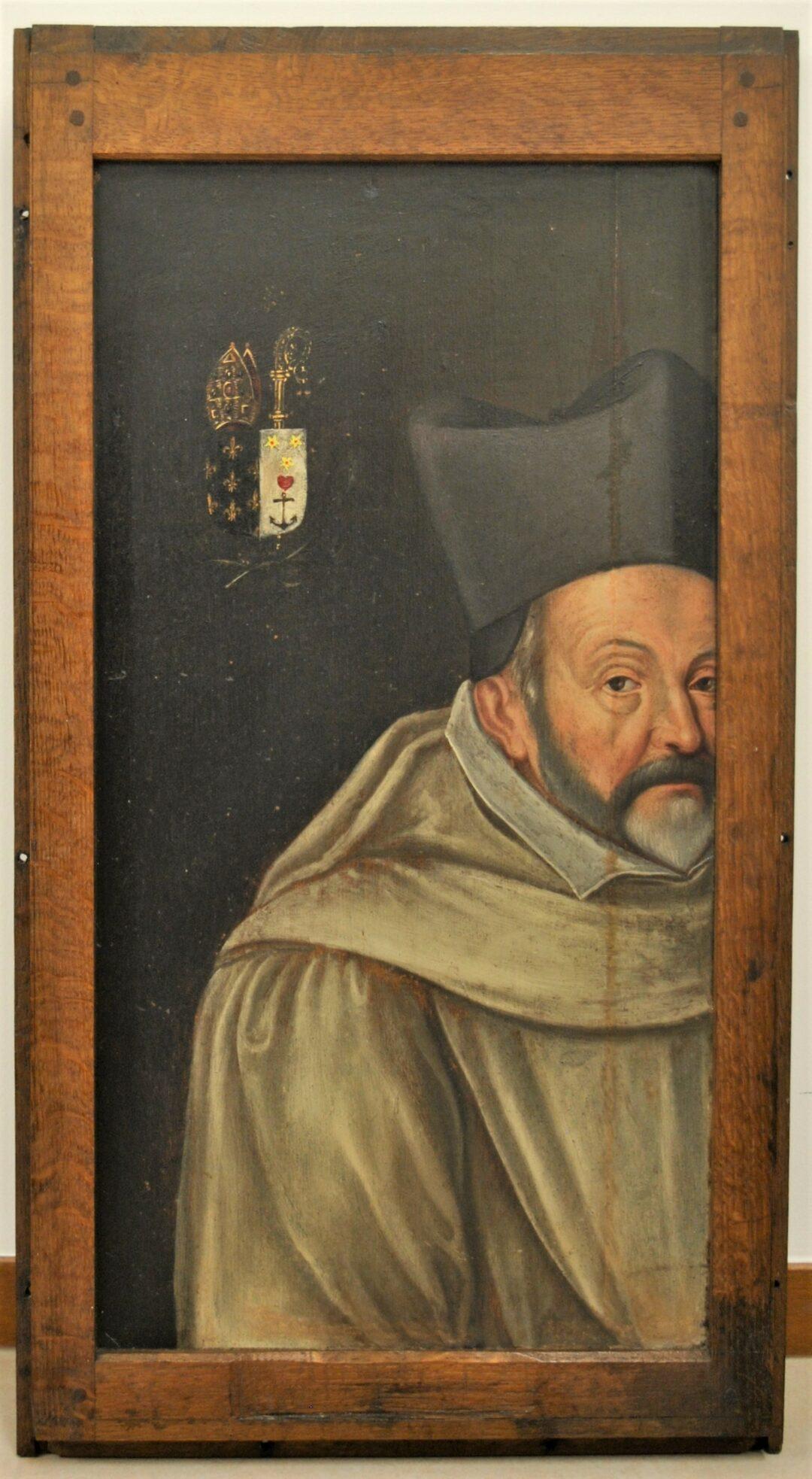 Franière – Eglise – Restauration d'une peinture